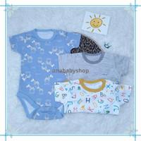 3pcs baju jumper bayi laki laki baru lahir 0 3 6 12 16 bulan 1 tahun