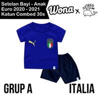 Setelan Euro Naked & Free Grup A (Italia) Untuk Bayi& Anak Bahan Katun