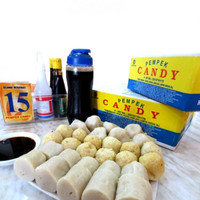 PROMO!!! Pempek Candy Makanan Asli Palembang Mpek mpek Paket Kecil A