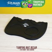 Tamping Mat Besar Large Tamper Mat 2 Lobang Tatakan Bar Mat Cafe L