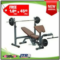 BERWYN Bench Press / Bangku Angkat Beban / Kursi Fitness Gym