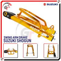 SWING ARM SWINGARM SUZUKI SHOGUN SMASH DRAKE RACING SASIS AYUN SHOGUN - GOLD