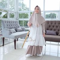 Gamis Anak Syari Usia 7-9 Thn Baju Muslim Anak MOLLY SYARI KIDS