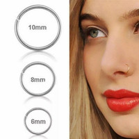 Anting hidung stainless nose stud ring
