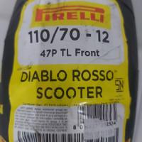 ban pirelli diablo rosso scooter 110/70 12