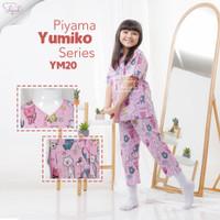 Shofwah Yumiko Series Piyama Anak /Remaja Cewek YM20 Cat Purple