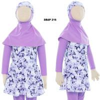 Baju Renang Anak Muslim Muslimah Wanita Perempuan Cewek Sulbi SBAP