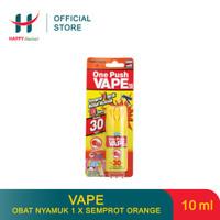 VAPE Obat Nyamuk Spray 1 X Semprot Orange 10 ML