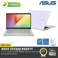 ASUS S333JQ-EG551T 13.3,i5-1035G1/MX350/8G/512G PCIE+32G TG/FHD/WHITE