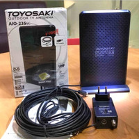 Antena TV Indoor/Outdoor Digital/Analog Toyosaki AIO 235-SC