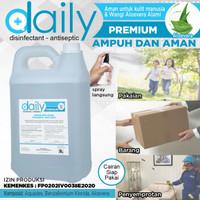 Desinfektan Antiseptik Daily PREMIUM 5 liter (Izin Kemenkes) AntiVirus