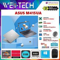 LAPTOP ASUS M415UA RYZEN 5-5500U 8GB 512GB SSD 14 WIN10 OHS