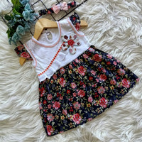 Dress Bayi Perempuan 0 6 bulan / Dress Baby Girls / Baju Bayi Cantik