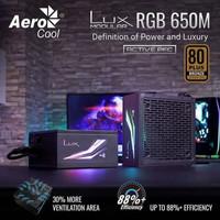 Aerocool LUX RGB 650M Modular PSU 80+ BRONZE 650W 650Watt 650