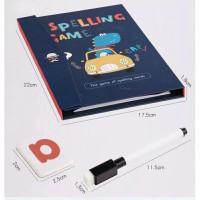 Buku Edukasi Spelling Game / Buku Pintar Belajar Membaca Anak