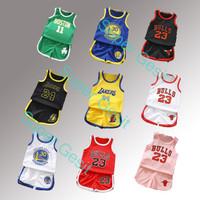 Setelan baju Jersey basket anak kecil - Colorado