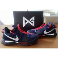 Sepatu Basket Nike PG4 PG 4 Clippers Black Blue CD5082-006 ORIGINAL