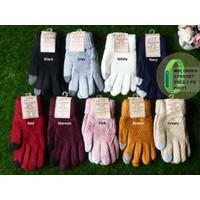 HX030 Sarung tangan wol tebal musim dingin Winter Touch Screen Gloves