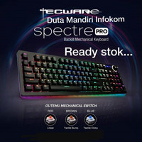 Tecware Spectre Pro - RGB Backlit Mechanical Gaming Keyboard