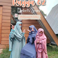 QRANA - BAJU GAMIS ANAK RAYYA 02 SET CADAR SIZE 4-12