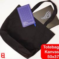 Tas Belanja Goodie Bag Tas Laundry (Totebag Besar Kanvas Premium) - Putih