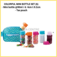 Tupperware eco mini bottle (6) with bag