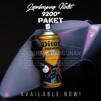 PAKET Diton Premium Bunglon Lembayung Violet 9200 Cat Semprot 400cc 40