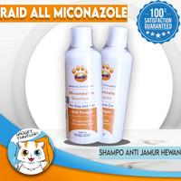 Miconazole Shampoo Anti Jamur Kucing Anjing Hewan / Shampo /kutu