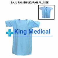 Baju Pasien/Baju Operasi/Baju Rumah Sakit (bahan katun oxford) Nyaman
