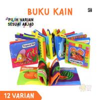 Mainan Anak Buku Kain Bantal Bayi Softbook Cloth Book Edukasi Cerita