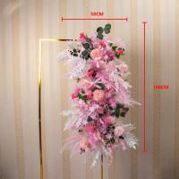 Dekorasi Lamaran DIY Wedding akad RANGKAIAN BUNGA BACKDROP