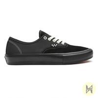 Sepatu Vans Skate Authentic Black Black Original BNIB