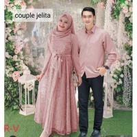 Baju stelan keluarga/Gamis couple Jelita 2 IN 1