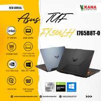 Asus TUF F15 FX506LH I765B8T O Core i7 10870H/SSD 512GB/8GB/GTX1650