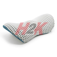 Bantal 3D Lumbar Pinggang Punggung Mobil - Kursi Kantor - Memory Foam