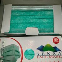 Masker Sensa 3Ply 50Pcs