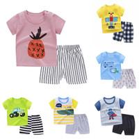 Summer Daily Set Anak Baju Main Setelan Anak Pendek Karakter Keren