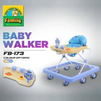 Family FB1738L Musik Aeroplane Roller, Rabbit & Flower Toy Baby Walker