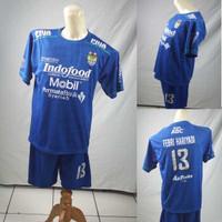 Setelan Baju/Kaos Sepak Bola Anak Persib Bandung 2019-2020 Home 2