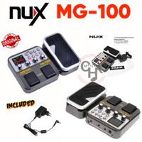 nux mg100 mg-100 mg 100 efek gitar multi