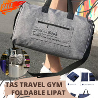 Foldable Travel Bag / Duffle Bag / Tas Gym Lipat / Tas Travel Lipat