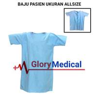 Baju Pasien/Baju Operasi/Baju rumah Sakit Bahan Katun Oxford
