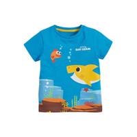 Kaos Anak Laki-Laki - Baby Shark Shirt