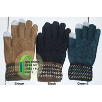HX053 Sarung tangan wol tebal musim dingin winter touch screen gloves