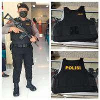 Bodyvest Rompi Anti Peluru Polisi jatah Polri