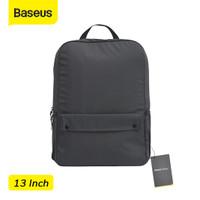 BASEUS BASIC SERIES LAPTOP BAG TAS LAPTOP MACBOOK NOTEBOOK TAS RANSEL - Abu 13inch
