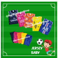 Baju Bola Jersey Bayi Kutung Futsal Anak Murah Laki laki Olahraga