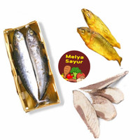 Ikan cue salem keranjang / Pindang potong / Bandeng presto -Melyasayur