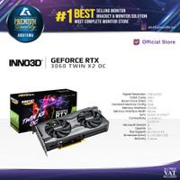 VGA Inno3D GEFORCE RTX 3060 TWIN X2 OC 12GB 192-bit