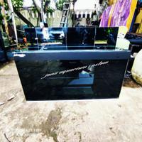 aquarium 100x50x50 kaca 10mm full set filter kaca